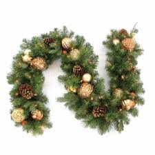 battery operated garland with timer