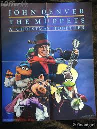 denver signed poster the muppets x together for sale