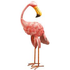 Flamingo Rugs National Tree Company 32 In Metal Pink Flamingo Ras Xf3615104 1