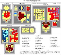 The Legend Of Zelda A Link Between Worlds Map by The Legend Of Zelda A Link Between Worlds Lorule Lorule Castle