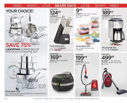sears flyer september 14 october 1 2017 weekly flyers canada sears flyer september 14 october 1