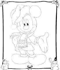 228 coloring pages disney christmas images