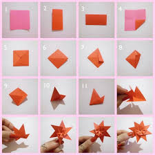 membuat hiasan bunga dari kertas lipat cara membuat hiasan dinding kamar dari kertas origami dekor rumah