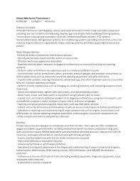 Diesel Technician Resume Best Photos Of Diesel Technician Resume Diesel Mechanic Resume