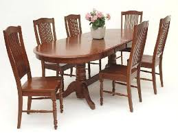 oval dining table set for 6 oval dining room table curated x oval brownstone dining table oval