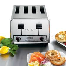 Waring Pro 4 Slice Toaster Oven Waring Wct805b Heavy Duty 4 Slice Toaster 208v