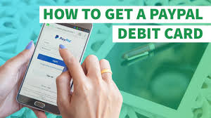 free prepaid debit card how to get a free prepaid paypal debit card link in description