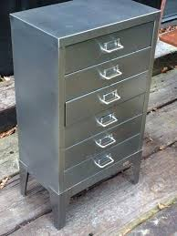 industrial lateral file cabinet 6 drawer file cabinet filing cabinet stripped polished steel