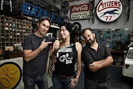 american pickers show on history channel with mike wolfe two lanes