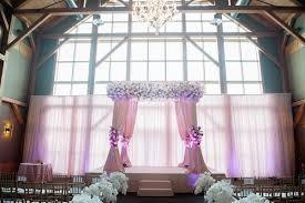 wedding ceremony canopy cultural bangladeshi mehendi pink white gold new york wedding
