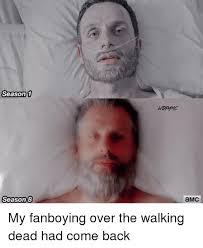 Walking Dead Season 1 Memes - season 1 season8 amc my fanboying over the walking dead had come