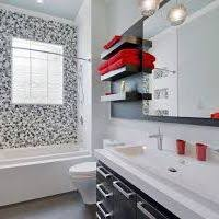 Black White And Red Bathroom Decorating Ideas Colors Black And White And Red Bathroom Hungrylikekevin Com