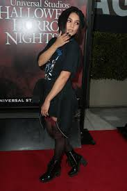 universal studios halloween horror nights 2017 vanessa hudgens at halloween horror nights opening night at