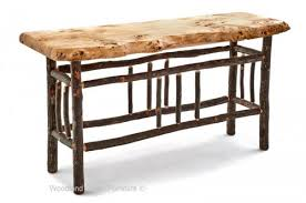 log sideboards and sofa tables archives woodland creek furniture