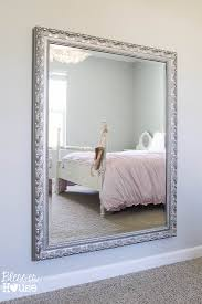 Hanging Pictures On Wall by Diy Ballet Barre And How To Hang A Heavy Mirror