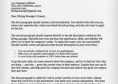 Sample Cover Letter Format For Resume by Download Samples Of Cover Letters For Resume