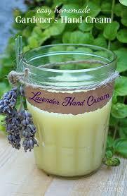 easy homemade hand cream for gardeners more garden gift ideas