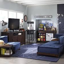 Pottery Barn Teen Stores Cushy Lounge Sectional Set Pbteen