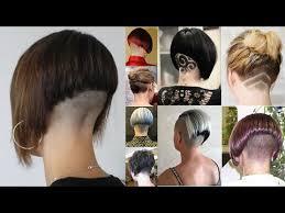 redhair nape shave extreme bob haircut nape shave nape shaving women bob