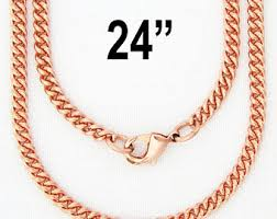 solid copper necklace chain images Fine 18 inch celtic copper scroll chain necklace nc61 4mm jpg