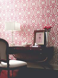 Modern Trellis Wallpaper Dying For This Wallpaper Would Be Fab In A Powder Room Or