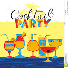 summer cocktail party invitations free printable invitation design