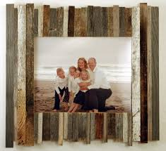 beachcomber reclaimed wood frame 11x14 rustic wall art rustic