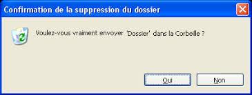 supprimer corbeille bureau windows corbeille supprimer un fichier sans confirmation