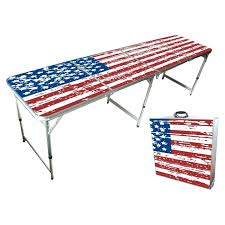how long is a beer pong table flag beer pong tables not just for college good home or tailgating