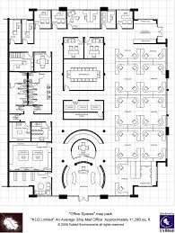 modern floorplans single floor office fabled environments