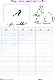 cursive small letter u0027r u0027 worksheet
