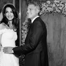 george clooney wedding george clooney amal alamuddin s wedding album photos instyle
