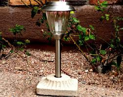 Solar Lighting For Gardens by Outdoor Lighting Etsy