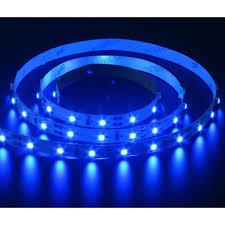 blue led strip lights 12v strip 60 4 8w 1m 12v blue f u0026 co