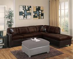 Reversible Sectional Sofa Chaise Chocolate Reversible Sectional Sofa With Chaise