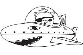 Cartoon Octonauts Coloring Pages Kwazii Cat Octonauts Coloring Octonauts Coloring Pages