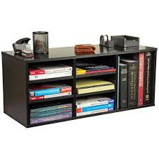 Home Office Desk Organizer Desk Organizer 9 Slot Wood Organizer For Work Home Office