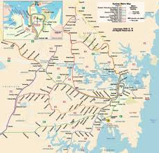 Subway Map by Sydney Subway Map Sydney Tube Map Australia