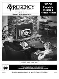 Fireplace Installation Instructions by Regency Fireplace Insert Manual H2100 I1100s I3100l Chimney