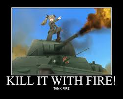 Girls Und Panzer Meme - girls und panzer fire by history nerd on deviantart