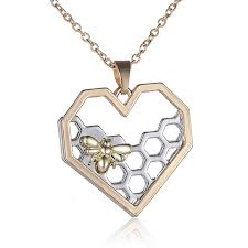 s day necklaces aliexpress buy fashion antique silver new heart pendant
