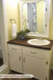 Small Bathroom Makeover by Tiny Condo Bathroom Makeover U2013 Before And After