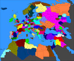 Ww1 Map I Created A Scenario Where Germany Had Won Wwi Three More World