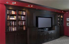 Walnut Wainscoting Maryland Custom Media Cabinets Maryland Cabinets A Cut Above Inc
