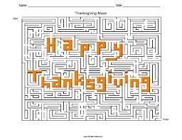 thanksgiving maze free printable allfreeprintable