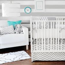 Gray Baby Crib Bedding New Arrivals Zig Zag 4 Baby Crib Bedding Set Grey