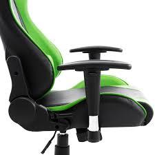 homcom racecar style high back office reclining chair ergonomic