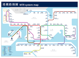 Subway Station Map by Mtr U003e System Map