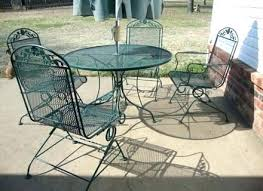 Metal Mesh Patio Table Metal Mesh Outdoor Furniture Dobroeutro