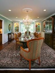 dining room with chandelier and recessed lighting ceiling
